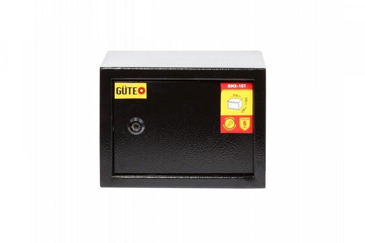 Мебельный сейф GUTE ЯМХ 15Т Черный (07021) - изображение 1