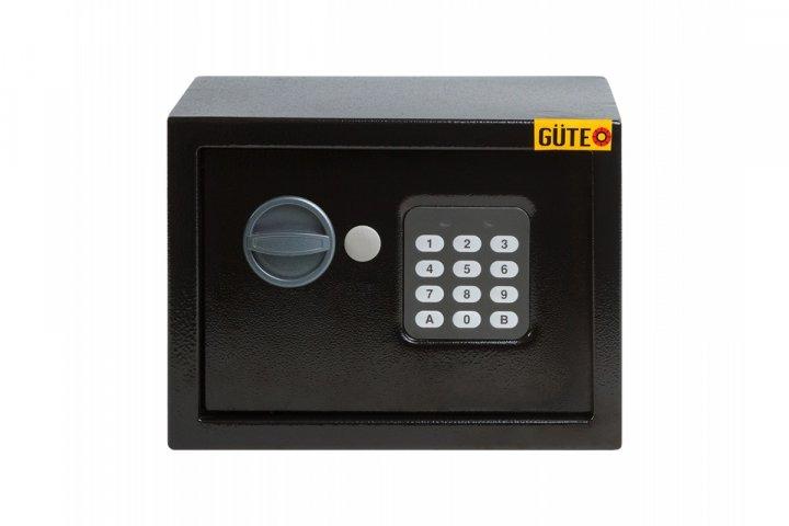 Меблевий сейф GUTE ЯМХ 17Е Чорний (070211) - зображення 1