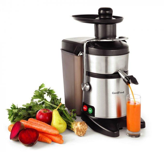 Соковыжималка эл. для твердых овощей и фруктов GoodFood FJ200 - изображение 1