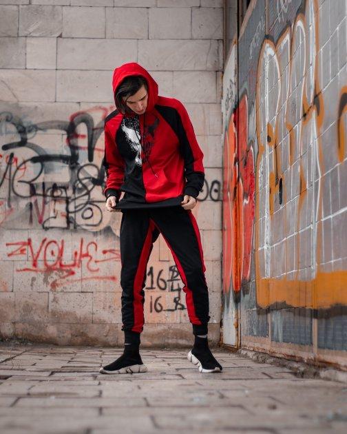 Спортивный костюм DNK MAFIA BenimaruR XL чёрно-красный BeR04 - изображение 1