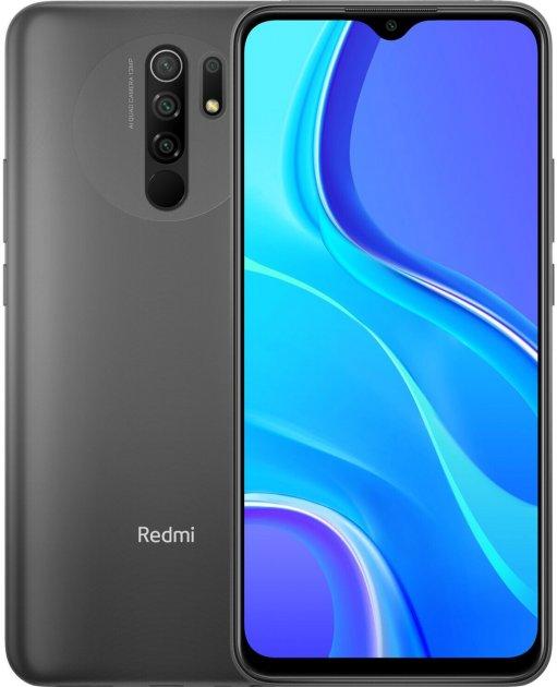 Мобильный телефон Xiaomi Redmi 9 4/64GB Carbon Grey (657895) - изображение 1