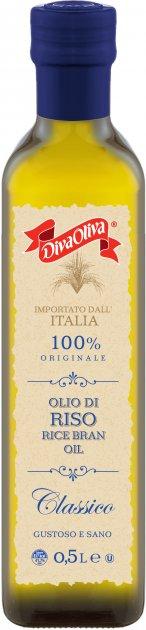 Масло из рисовых отрубей Diva Oliva Classico 500 мл (5060235658600) - изображение 1