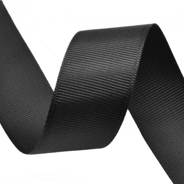 Репсовая лента 25 мм черная полотенца verossa отзывы