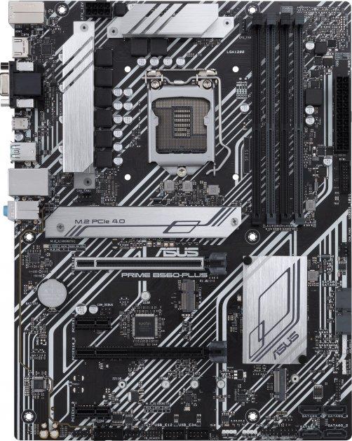 Материнская плата Asus Prime B560-Plus (s1200, Intel B560, PCI-Ex16) - изображение 1