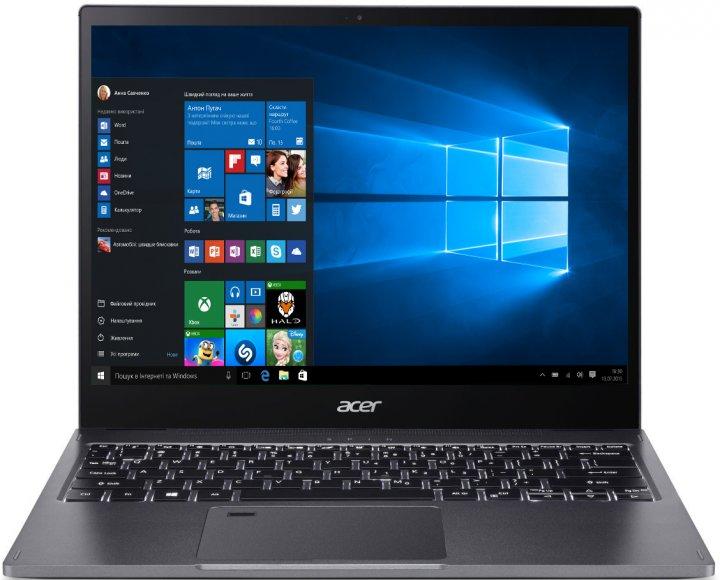 Ноутбук Acer Spin 5 SP513-54N-75ZE (NX.HQUEU.00C) Steel Gray - зображення 1