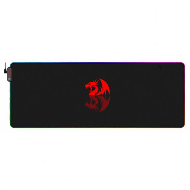 Килимок для мишки Redragon Pluto LED (77588) - зображення 1
