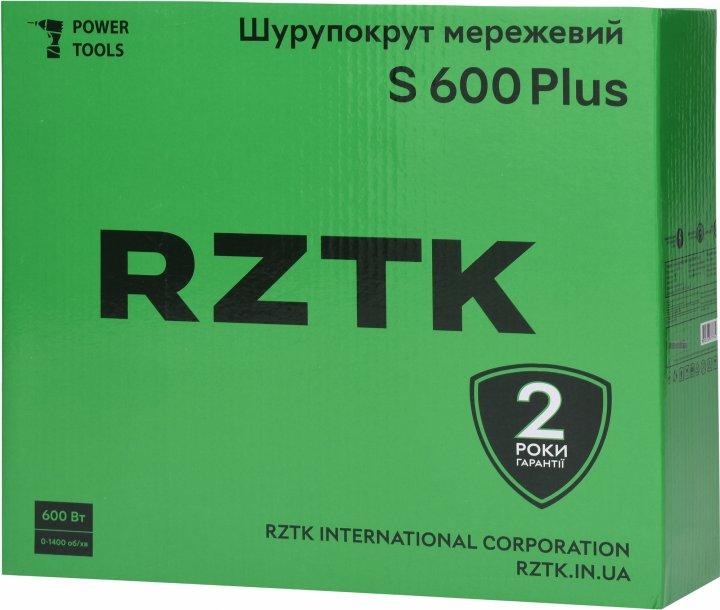 Сетевой шуруповерт RZTK S 600 Plus