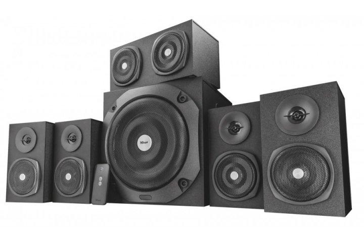 Акустическая система Trust Vigor 5.1 surround speaker system for pc - black (22236) - изображение 1