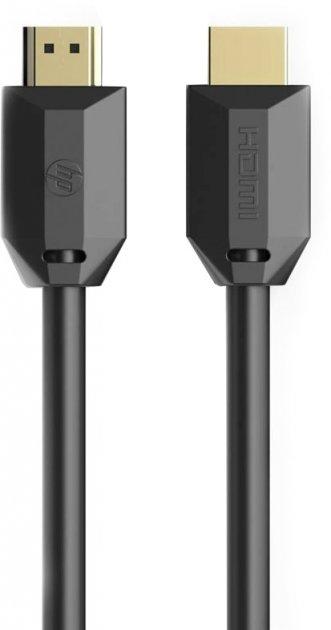 Кабель HP HDMI M — HDMI M V2.0 4K 60 Hz 1 м Black (DHC-HD01-01M) - зображення 1