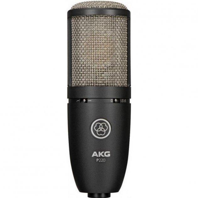 Мікрофон AKG P220 Black (3101H00420) - зображення 1