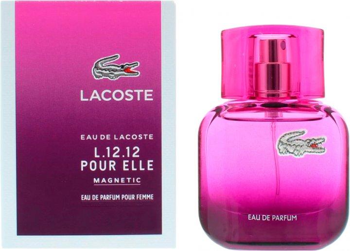 Парфюмированная вода для женщин Lacoste L.12.12 Pour Elle Magnetic 80 мл (8005610266473) - изображение 1