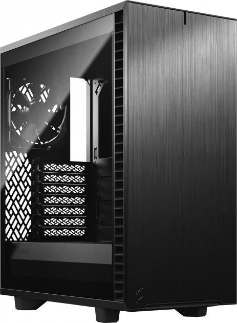 Корпус Fractal Design Define 7 Compact Light Tempered Glass Black (FD-C-DEF7C-03) - зображення 1