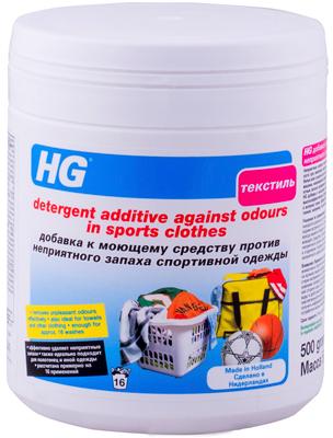 Добавка к моющему средству HG против неприятного запаха спортивной одежды 500 мл (8711577217426) - изображение 1