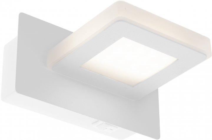 Стінний свтильник Brille AL-520/1x3W LED NW WH (26-495) - зображення 1
