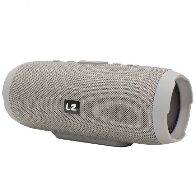 Портативна Bluetooth колонка LZ Charge 3 Grey - зображення 1