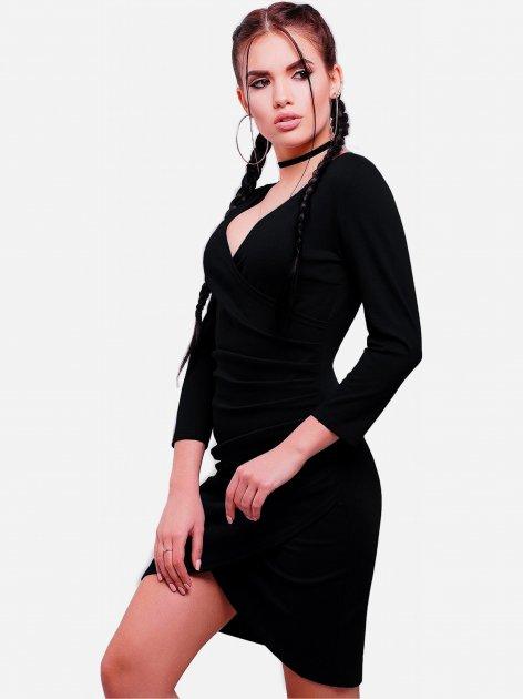 Платье Fashion Up Amelie PL-1592D 48 Черное (2000000162751) - изображение 1