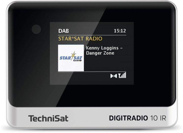 Цифровое радио TechniSat DIGITRADIO 10 IR черно-серебристое (0010/3945) - изображение 1
