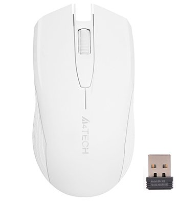 Миша A4Tech G3-760N Wireless White (4711421939942) - зображення 1