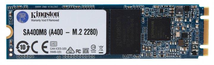 Kingston SSD SSDNow A400 240GB M.2 2280 SATAIII TLC (SA400M8/240G) - изображение 1