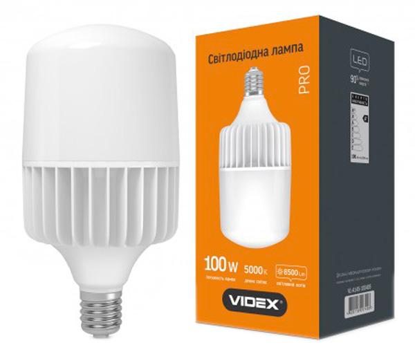 Светодиодная лампа VIDEX A145 100W E40 5000K 220V (24994) - изображение 1