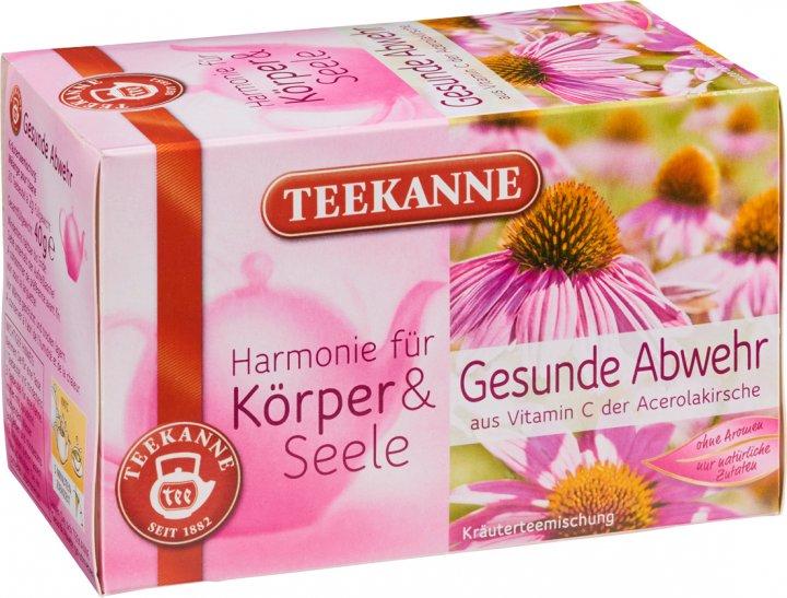 Чай травяной пакетированный Teekanne Гармония Защита иммунитета 20 пакетиков (4009300007746) - изображение 1