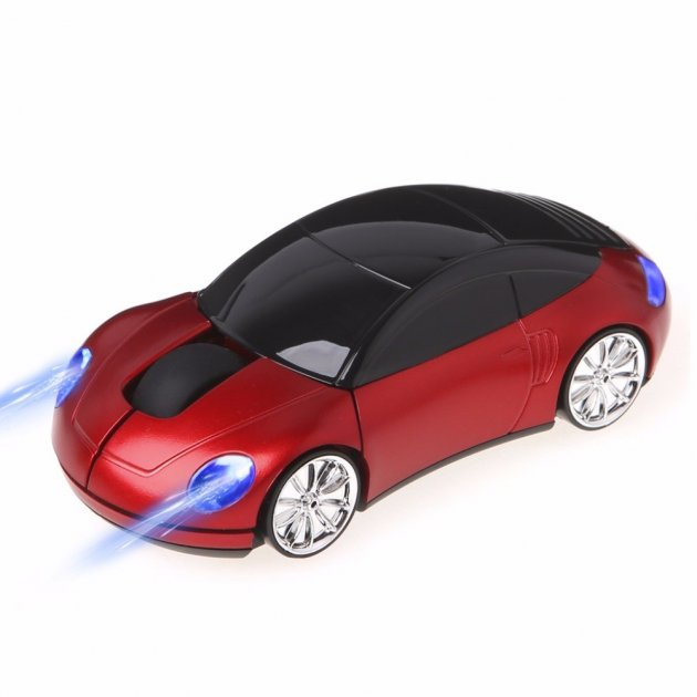 Мишка-машинка HO China бездротова червона - зображення 1