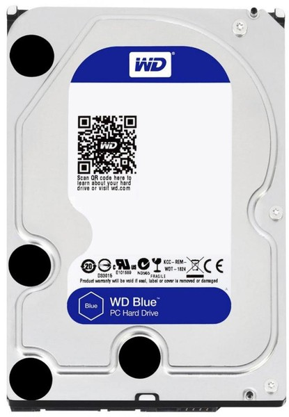 Жорсткий диск (HDD) Western Digital Blue 3TB SATA3 (WD30EZRZ) - зображення 1
