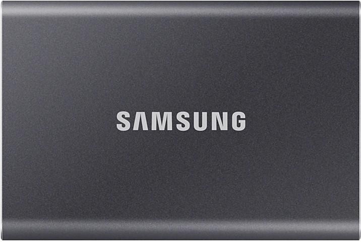 Samsung Portable SSD T7 500GB USB 3.2 Type-C (MU-PC500T/WW) External Grey - зображення 1