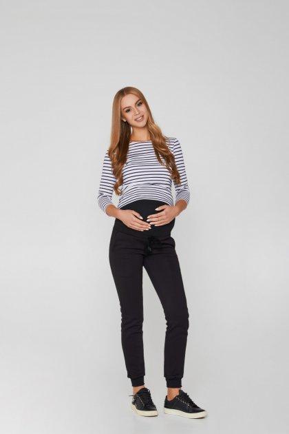 Спортивні штани для вагітних (зима) Lullababе Base 48р чорний - зображення 1