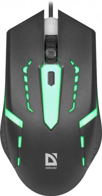 Миша Defender Hit MB-601 USB Black (52601) - зображення 1