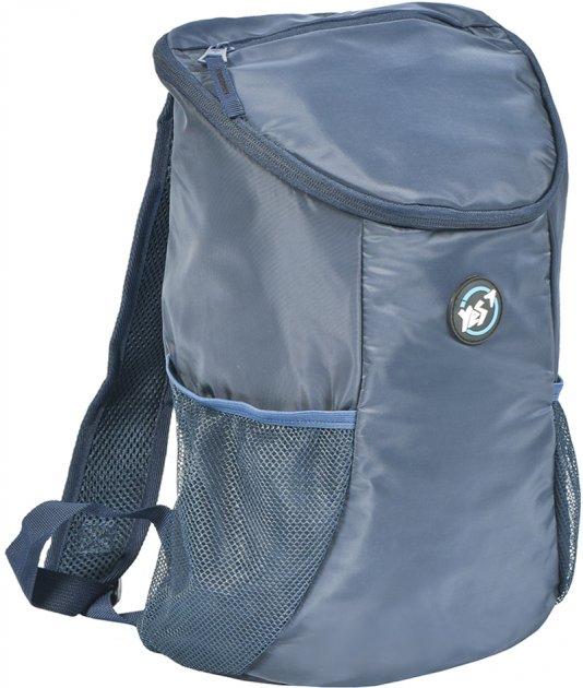 Рюкзак молодежный YES T-99 Easy way мужской 0.4 кг 27x40x16 см 17.3 л Темно-синий (558564) - изображение 1