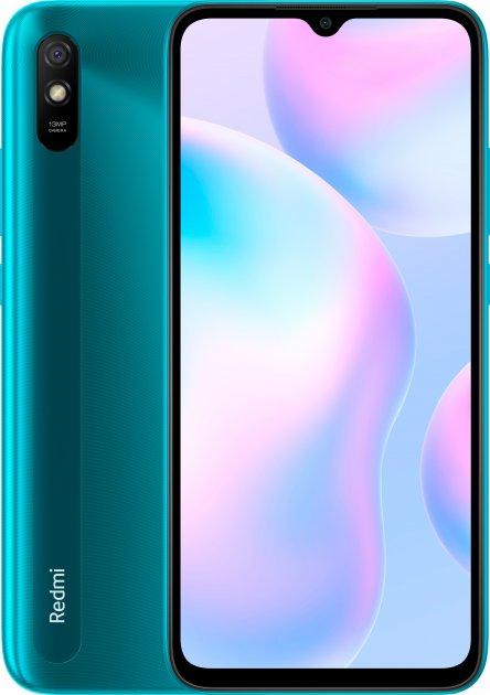 Мобильный телефон Xiaomi Redmi 9A 2/32GB Peacock Green (M2006C3LG) - изображение 1