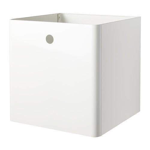 Коробка IKEA KUGGIS 30x30x30 см біла 603.949.47 - зображення 1