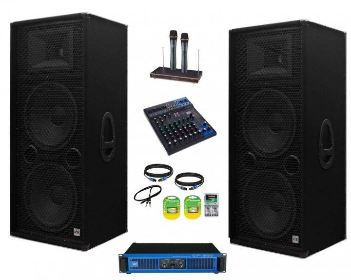 Комплект акустики професійного звукового обладнання Sound Division Turbo2500+ 2500Вт - зображення 1