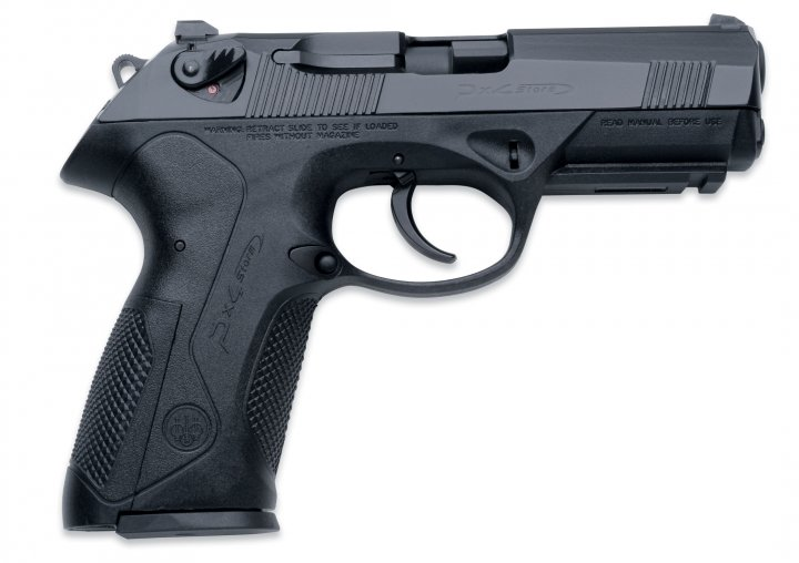 Пистолет пневматический Umarex Beretta Px4 Storm Blowback кал 4.5 мм ВВ (3986.02.12) - изображение 1