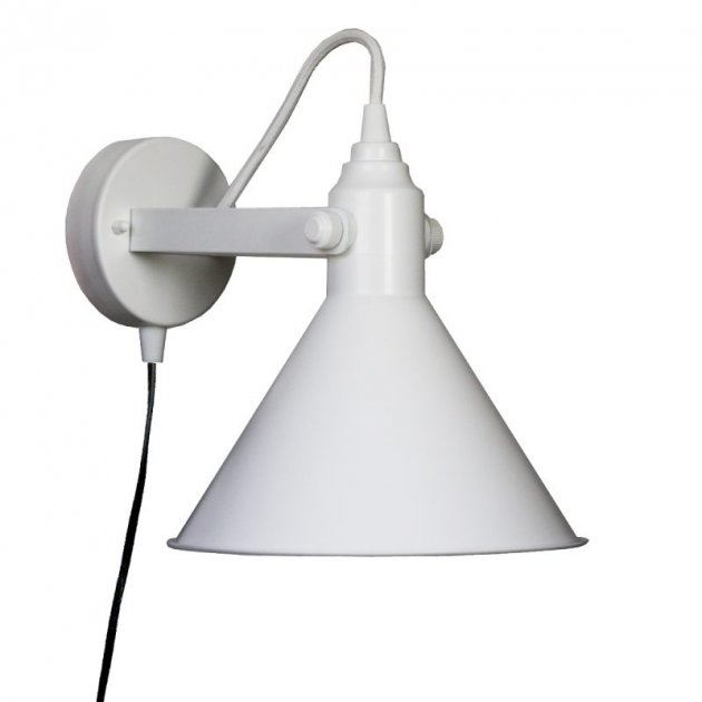 Настінне бра Pikart Buco clip sconce White, арт. 5495.1 (5495-1 - 5539) - изображение 1