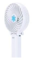 Ручной мини вентилятор трансформер Kronos handy mini fan с аккумулятором 18650 White (gr_007249) - изображение 1