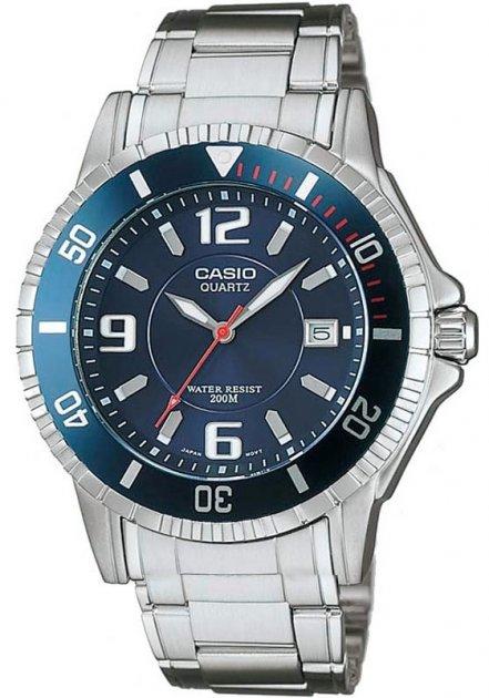 Чоловічі наручні годинники Casio MTD-1053D-2AVES - зображення 1