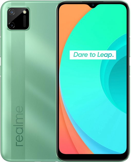 Мобільний телефон Realme C11 2/32 GB Green - зображення 1