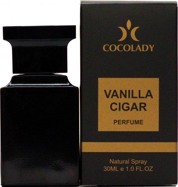 Парфюмированная вода Cocolady Vanilla Cigare 30 мл (4820218790809) - изображение 1