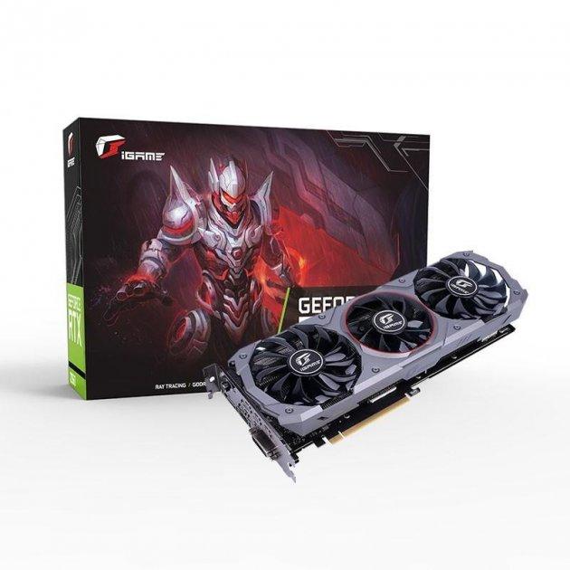 Colorful GeForce GTX 1660 6GB iGame Advanced OC (GTX 1660 IGAME ADVANCED OC-V) - зображення 1