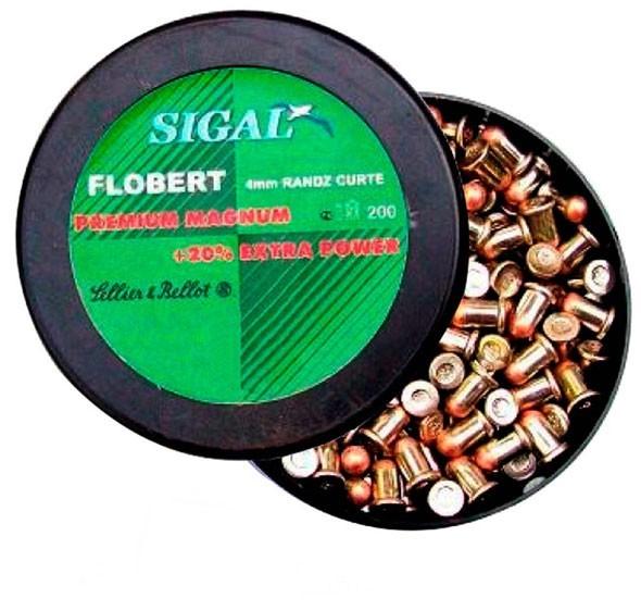 Патроны Флобера 4 мм Sellier&Bellot Sigal (200 шт) - изображение 1