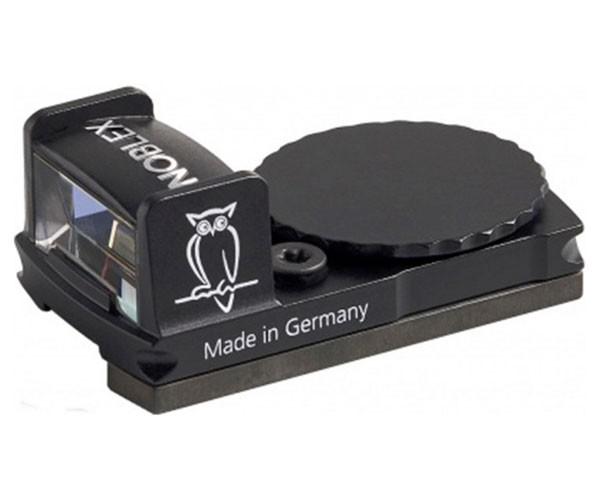 Приціл коліматорний Noblex QuickSight 5.0 MOA VR з кріпленням на вентильовану планку - зображення 1