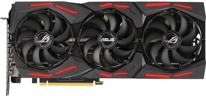Asus PCI-Ex GeForce RTX 2060 ROG Strix Gaming EVO Advanced Edition 6GB GDDR6 (192bit) (1365/14000) (2 x HDMI, 2 x DisplayPort) (ROG-STRIX-RTX2060-A6G-EVO-GAMING) - зображення 1