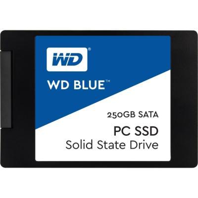 """Накопичувач SSD 2.5"""" 250GB Western Digital (WDS250G1B0A) - зображення 1"""