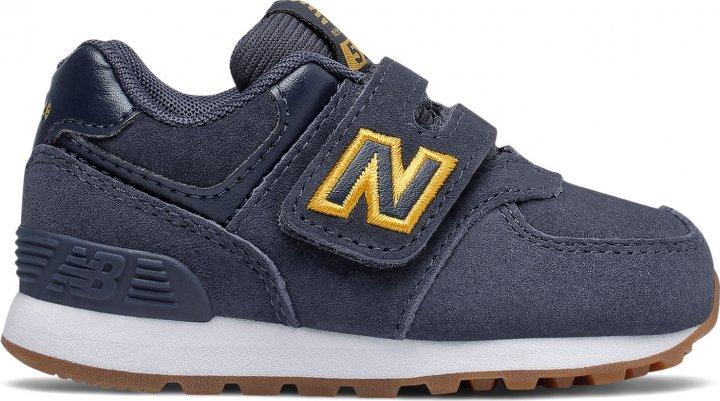 Кросівки New Balance 574 Premium IV574PNY 23 (7.5) 14 см Сині (194389915175) - зображення 1
