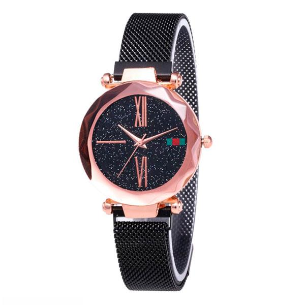 Жіночі годинники Starry Sky Watch на магнітній застібці Чорні - зображення 1