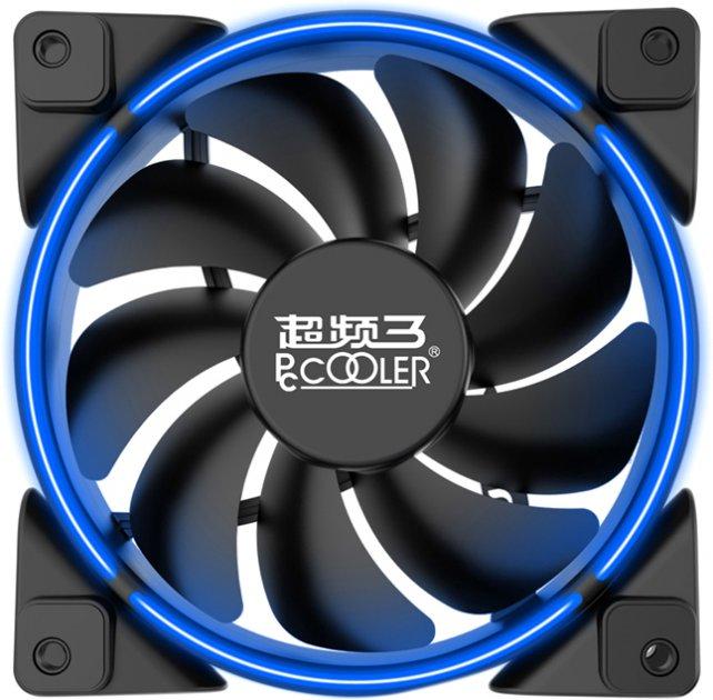 Кулер PcCooler Corona 120 мм Blue LED - изображение 1