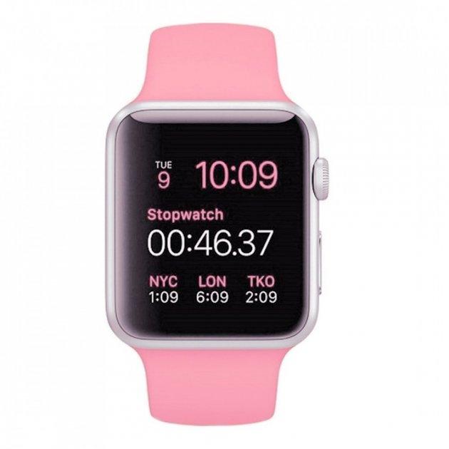 Смарт-годинник UWatch A1 Pink - зображення 1
