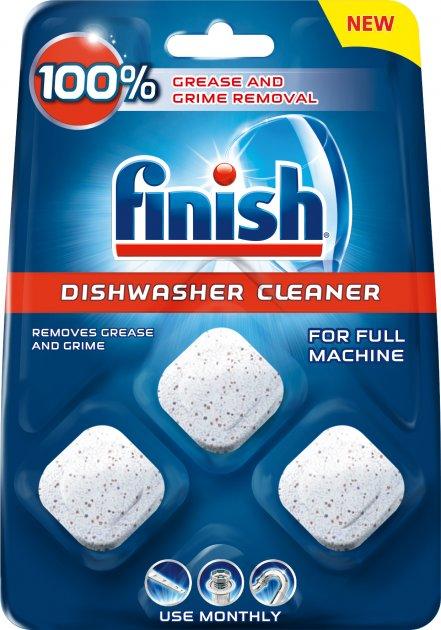 Средство для очищения посудомоечных машин FINISH Dishwasher Cleaner 3 шт (5900627073003) - изображение 1